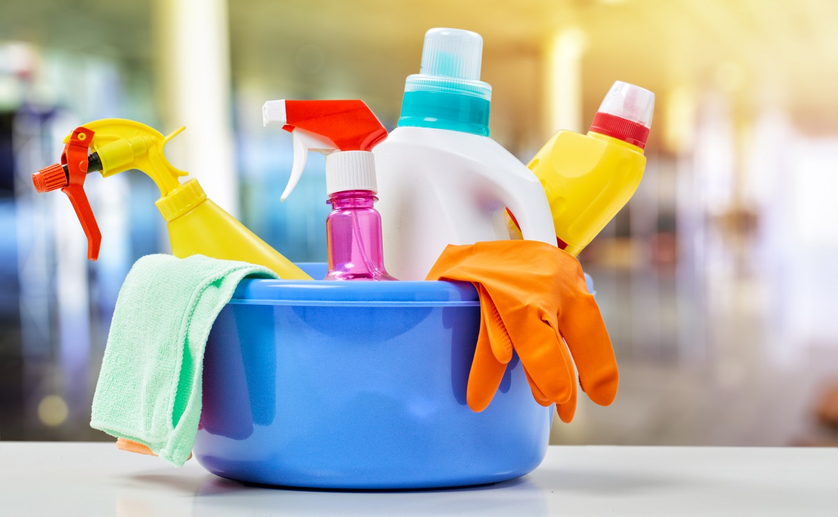 Environmentally safe cleaning