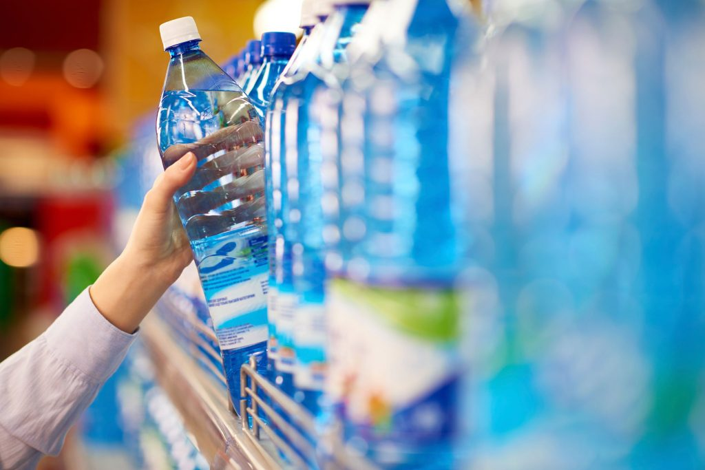 Recycling during Coronavirus water bottles