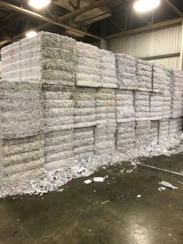 Recycling and Shredding