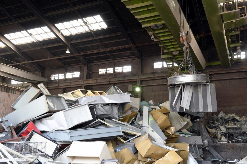 industrial recycling program